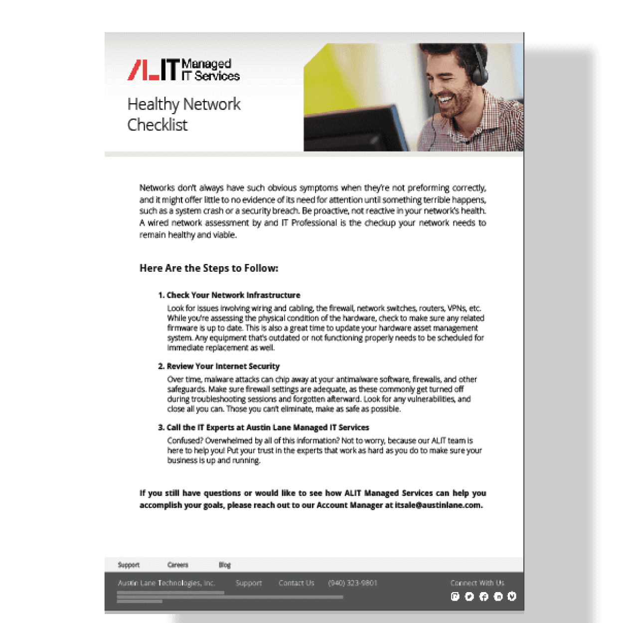 ALIT Checklist Preview